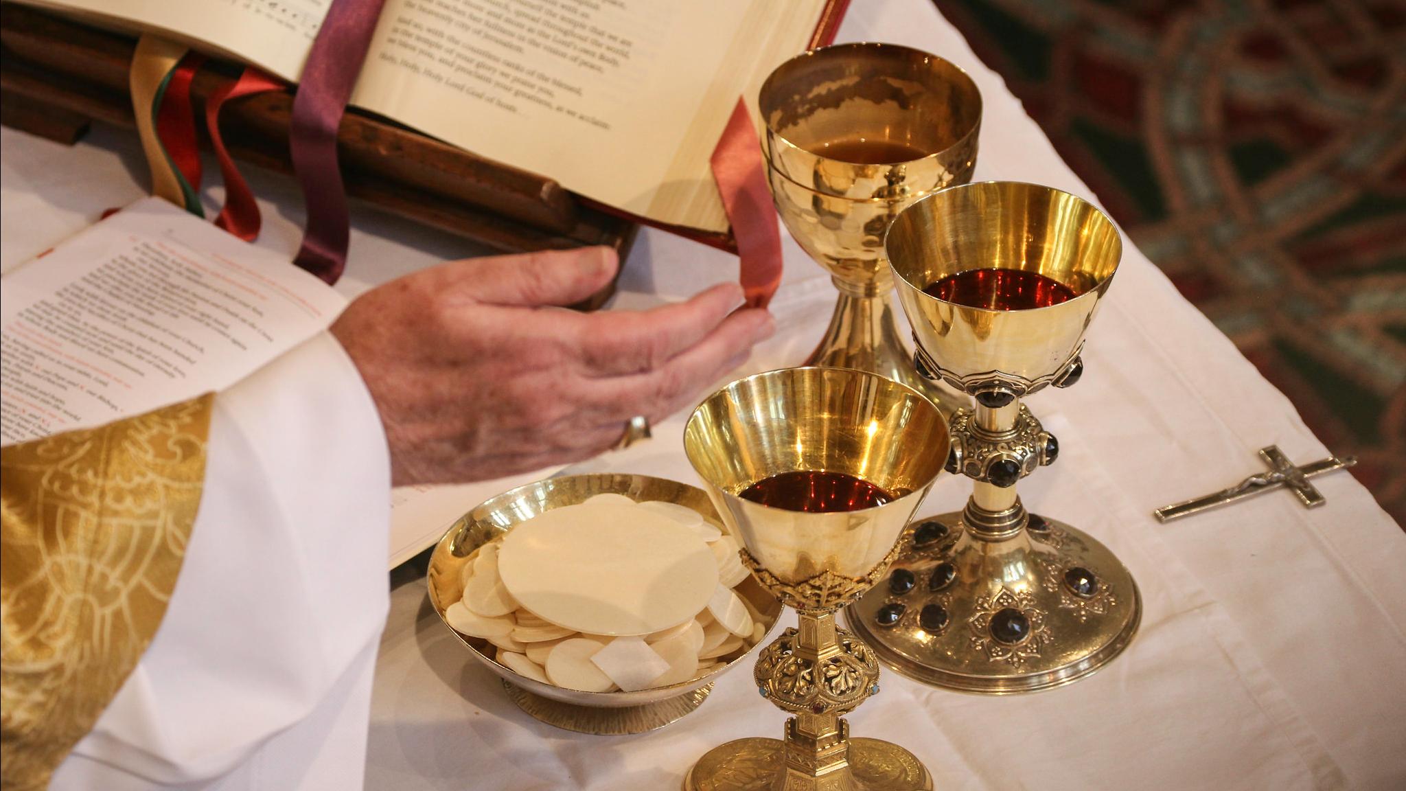 Photo d'une célébration Eucharistique