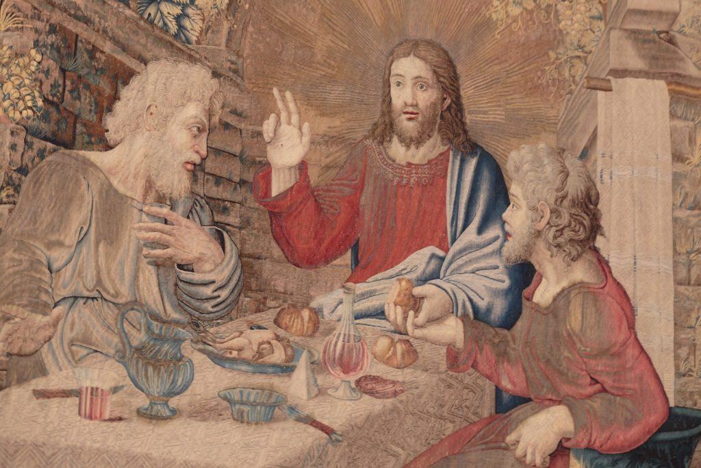 Diner de Jésus en compagnie d'Emmaüs