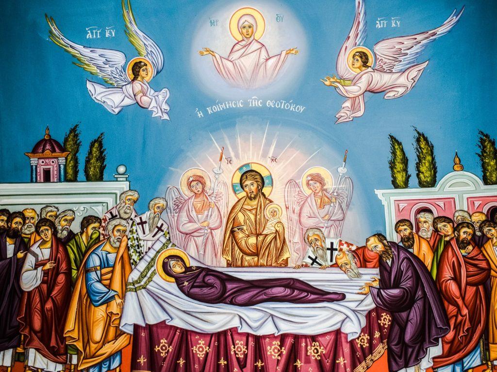 Assomption de la Vierge Marie représentation