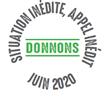 """Logo de la Campagne de Dons """"Situation inédire, Appel inédir Donnons"""